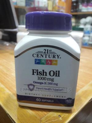 Fish Oil 1000mg | Vitamins & Supplements for sale in Lagos State, Surulere