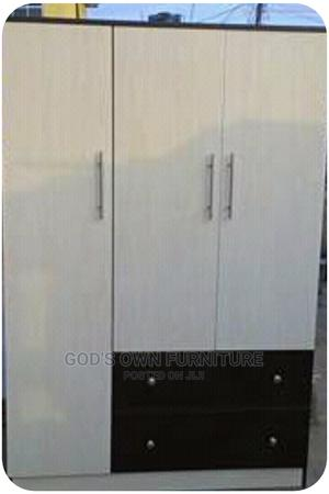 Quality 3 Doors Wardrobe With Shelves | Furniture for sale in Lagos State, Ikeja