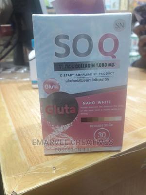 SOQ Gluta Collagen : Nano White | Vitamins & Supplements for sale in Lagos State, Surulere