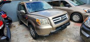 Honda Pilot 2007 Gold | Cars for sale in Lagos State, Amuwo-Odofin