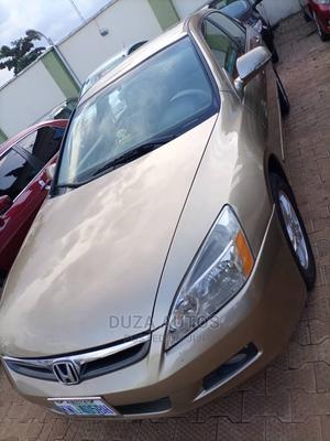 Honda Accord 2005 Automatic Gold   Cars for sale in Kaduna State, Kaduna / Kaduna State