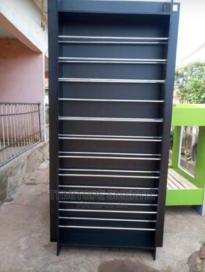 Well Designedblack Giant Shoe Rack   Furniture for sale in Ondo State, Akure