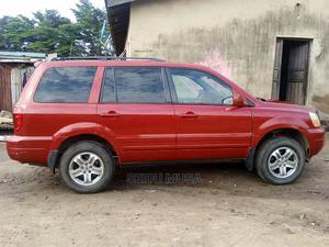 Honda Pilot 2003 EX-L 4x4 (3.5L 6cyl 5A) Red | Cars for sale in Kogi State, Lokoja