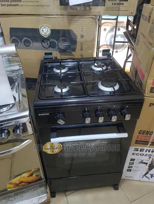 Brand New BRUHM(50by50)ALL Gas, Standing Gas Cooker, Black | Kitchen Appliances for sale in Lagos State, Ojo