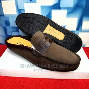 Clarks Suede Men Half Loafers | Shoes for sale in Lagos State, Lagos Island (Eko)