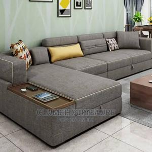 Quality L Shape With Center Table   Furniture for sale in Lagos State, Ajah