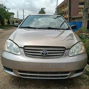 Toyota Corolla 2003 Sedan Automatic Gray | Cars for sale in Lagos State, Isolo