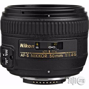 Nikon AF-S NIKKOR 50mm F/1.4g Lens   Accessories & Supplies for Electronics for sale in Lagos State, Ikeja
