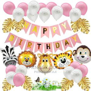 Surprise Balloons Jungle Tropical Theme Birthday Party Decor   Home Accessories for sale in Lagos State, Isolo