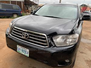 Toyota Highlander 2008 Limited 4x4 Black   Cars for sale in Delta State, Oshimili South