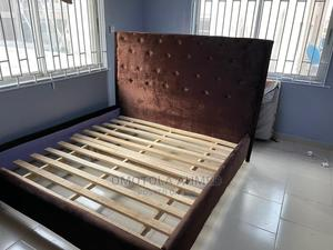 Neatly Used 6ft by 6ft Bedframe for Sale   Furniture for sale in Lagos State, Gbagada