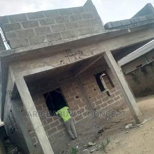 331.178Sqm Land For Sale With an uncompleted Building  | Land & Plots For Sale for sale in Ifako-Ijaiye, Alakuko