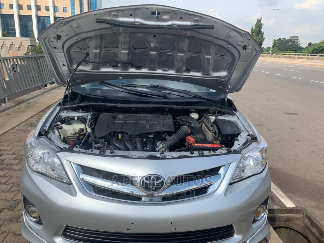 Toyota Corolla 2012 Silver   Cars for sale in Garki 2, Abuja (FCT) State, Nigeria