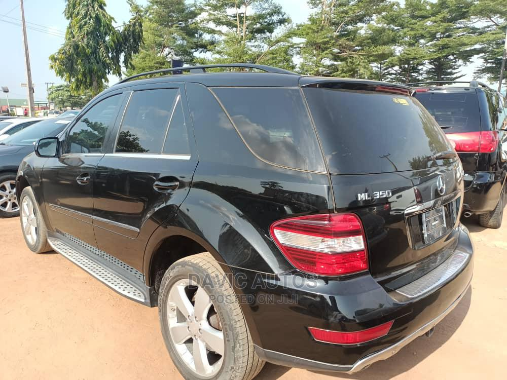 Mercedes-Benz M Class 2010 ML 350 4Matic Black | Cars for sale in Alimosho, Lagos State, Nigeria