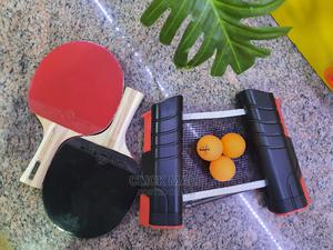 Retractable Table Tennis Game Set   Sports Equipment for sale in Lagos State, Yaba