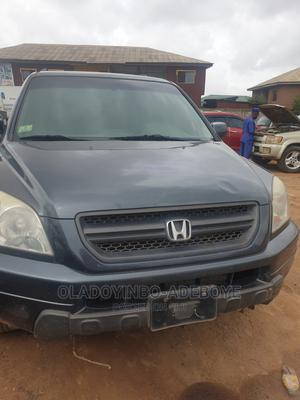 Honda Pilot 2005 EX-L 4x4 (3.5L 6cyl 5A) Gray | Cars for sale in Ogun State, Abeokuta South