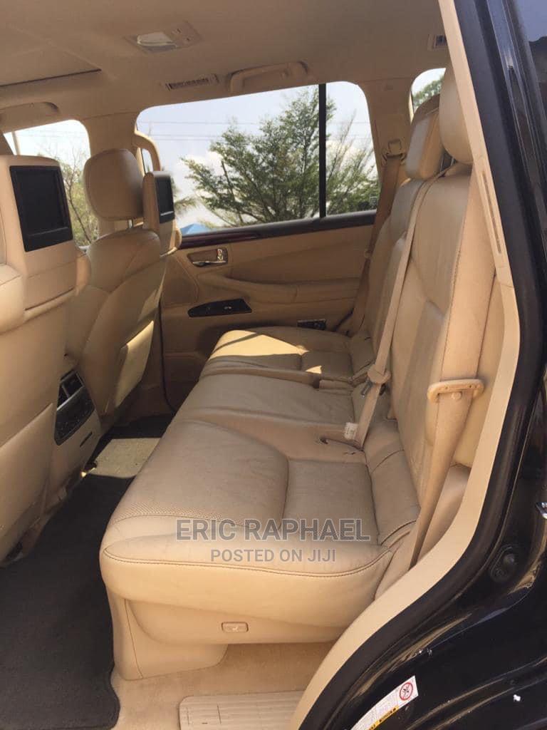 Lexus LX 2010 570 Black   Cars for sale in Enugu, Enugu State, Nigeria