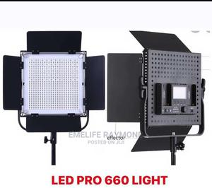 Led660 Comes With Battery,Charger and Tripod Stand  | Makeup for sale in Lagos State, Ojo