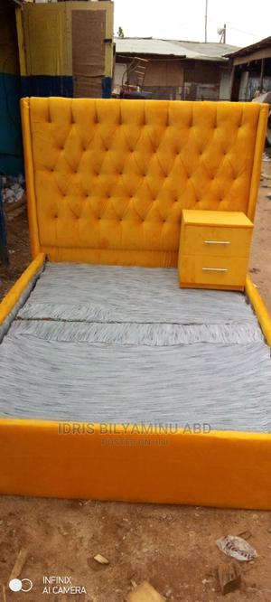 4by6 Bedframe With One Side Bed | Furniture for sale in Abuja (FCT) State, Lugbe District