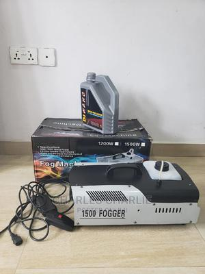 1500W Fog/Smoke Machine With Fog Liquid. | Accessories & Supplies for Electronics for sale in Lagos State, Ikeja