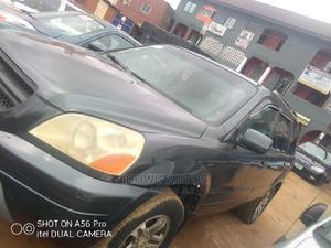 Honda Pilot 2004 EX-L 4x4 (3.5L 6cyl 5A) Gray | Cars for sale in Lagos State, Ejigbo