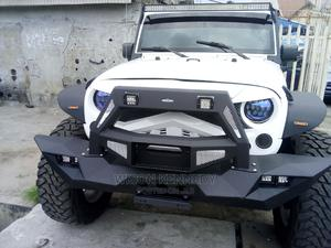 Jeep Wrangler 2015 White | Cars for sale in Lagos State, Apapa