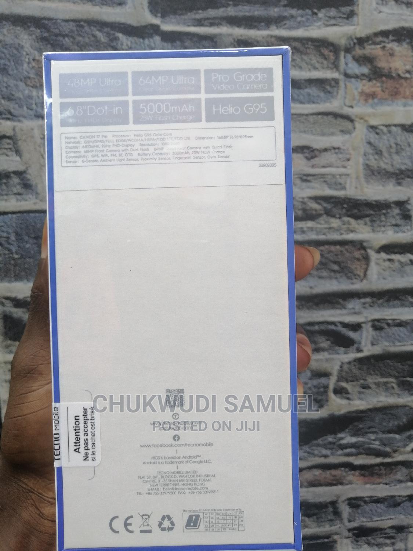 New Tecno Camon 17 Pro 256 GB Silver   Mobile Phones for sale in Wuse 2, Abuja (FCT) State, Nigeria