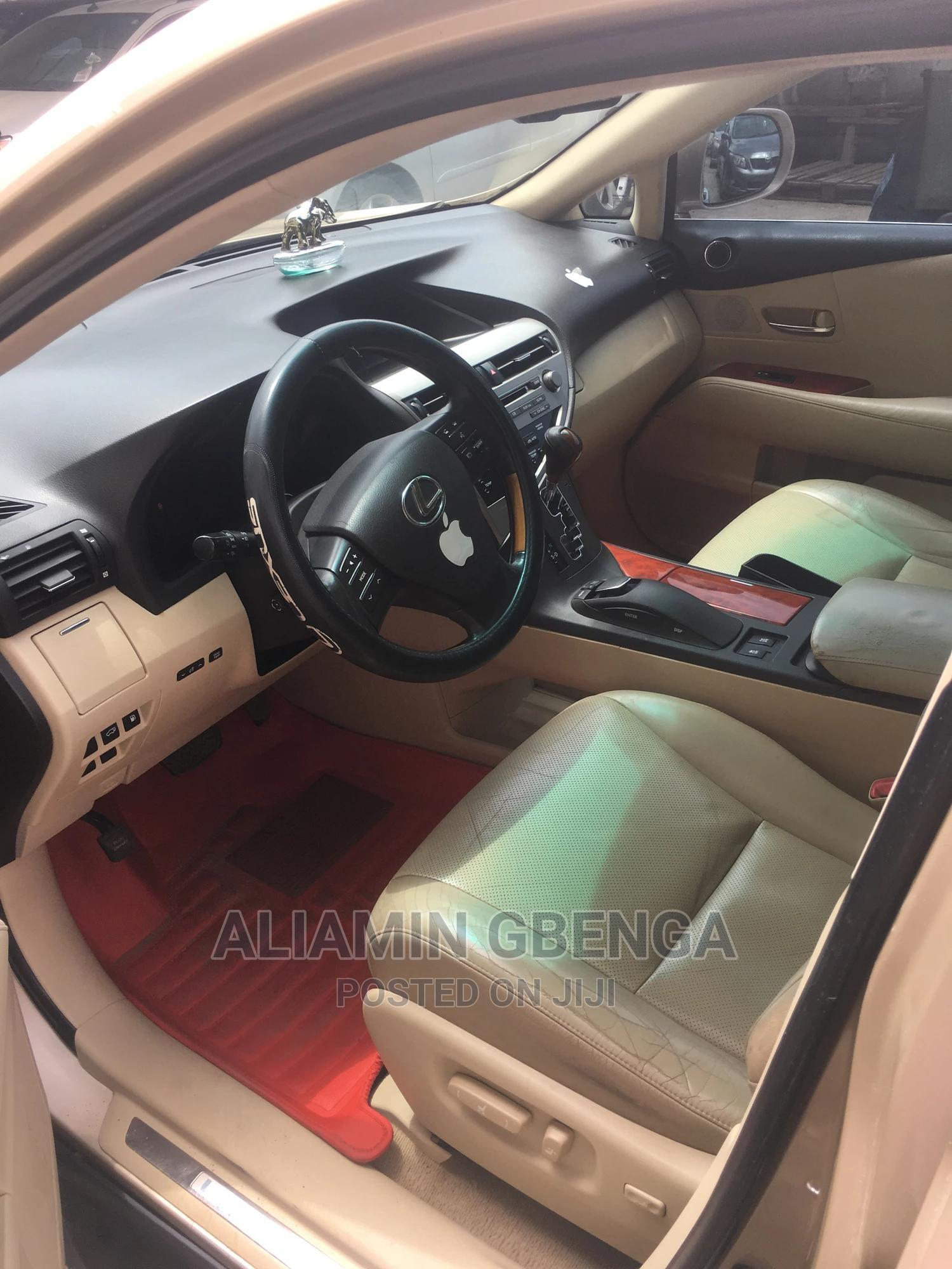 Lexus RX 2010 350 Gold   Cars for sale in Surulere, Lagos State, Nigeria