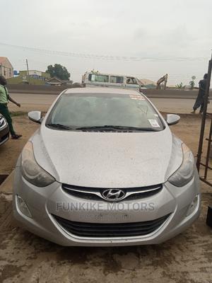 Hyundai Elantra 2013 Silver | Cars for sale in Lagos State, Ifako-Ijaiye