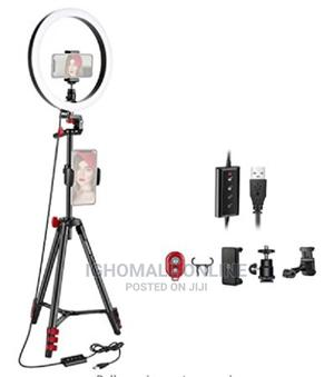 Ring Light LED 12 Inches With 210 Cm Trippod Stand - AG26 | Accessories for Mobile Phones & Tablets for sale in Lagos State, Alimosho