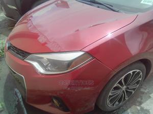 Toyota Corolla 2015 Red   Cars for sale in Lagos State, Ikeja