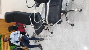 Black Office Chairs for Sale (Lightly Used)   Furniture for sale in Lagos State, Lekki