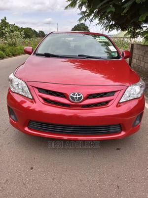 Toyota Corolla 2012 Red   Cars for sale in Abuja (FCT) State, Kubwa
