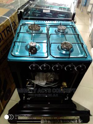 Midea Standing Gas Cooker 4 Burners All Gas | Kitchen Appliances for sale in Lagos State, Ogudu
