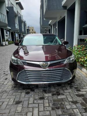 Toyota Avalon 2018 XLE (3.5L 6cyl 6A) Burgandy | Cars for sale in Lagos State, Lekki