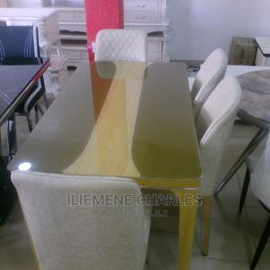 Quality Dinning Table With 6 Chairs   Furniture for sale in Lagos State, Ojo