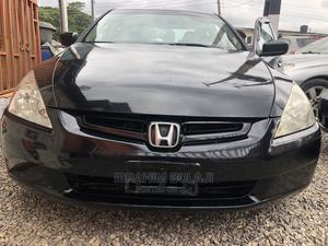 Honda Accord 2005 Sedan LX V6 Automatic Black | Cars for sale in Lagos State, Ojodu