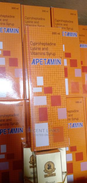 Apetamin Weight Gain Syrup | Vitamins & Supplements for sale in Abuja (FCT) State, Wuse 2
