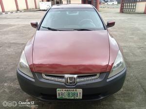 Honda Accord 2005 Red | Cars for sale in Akwa Ibom State, Uyo
