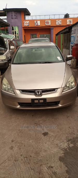 Honda Accord 2003 Gold   Cars for sale in Lagos State, Alimosho