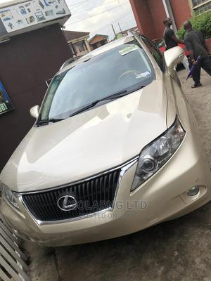 Lexus RX 2012 Gold | Cars for sale in Lagos State, Ojodu