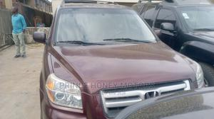 Honda Pilot 2007 EX 4x4 (3.5L 6cyl 5A) Red | Cars for sale in Lagos State, Alimosho