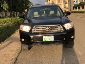 Toyota Highlander 2008 Black   Cars for sale in Abuja (FCT) State, Gwarinpa
