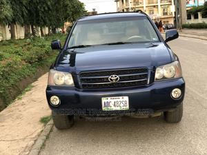 Toyota Highlander 2004 Blue | Cars for sale in Abuja (FCT) State, Gwarinpa