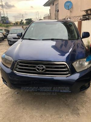 Toyota Highlander 2008 Limited Blue | Cars for sale in Lagos State, Surulere