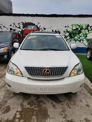 Lexus RX 2007 350 White | Cars for sale in Lagos State, Ajah