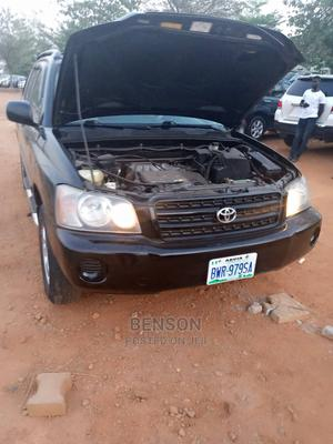 Toyota Highlander 2003 Limited V6 FWD Black | Cars for sale in Abuja (FCT) State, Wuse 2
