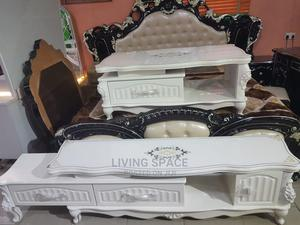 Royal Glass Top Center Table and Tv Stand | Furniture for sale in Lagos State, Ajah