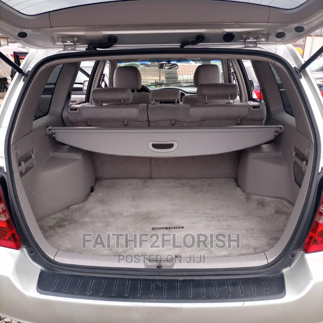 Toyota Highlander 2002 Silver   Cars for sale in Ikeja, Lagos State, Nigeria