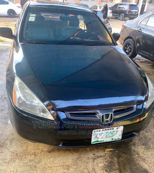 Honda Accord 2005 Sedan LX V6 Automatic Black | Cars for sale in Lagos State, Shomolu